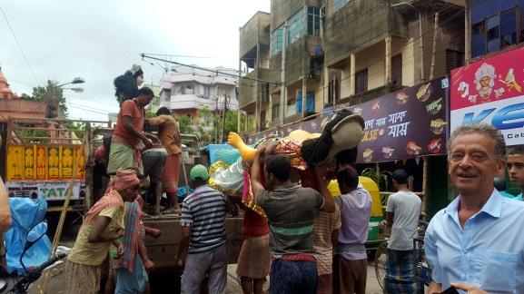 Claude Renault - Durgapuja Kolkata