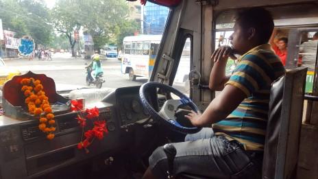 Bus driver Kolkata