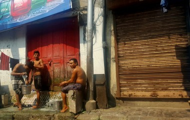 Kolkata bathing