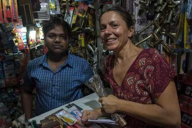 Buying tools in Chandni Chowk - Kolkata