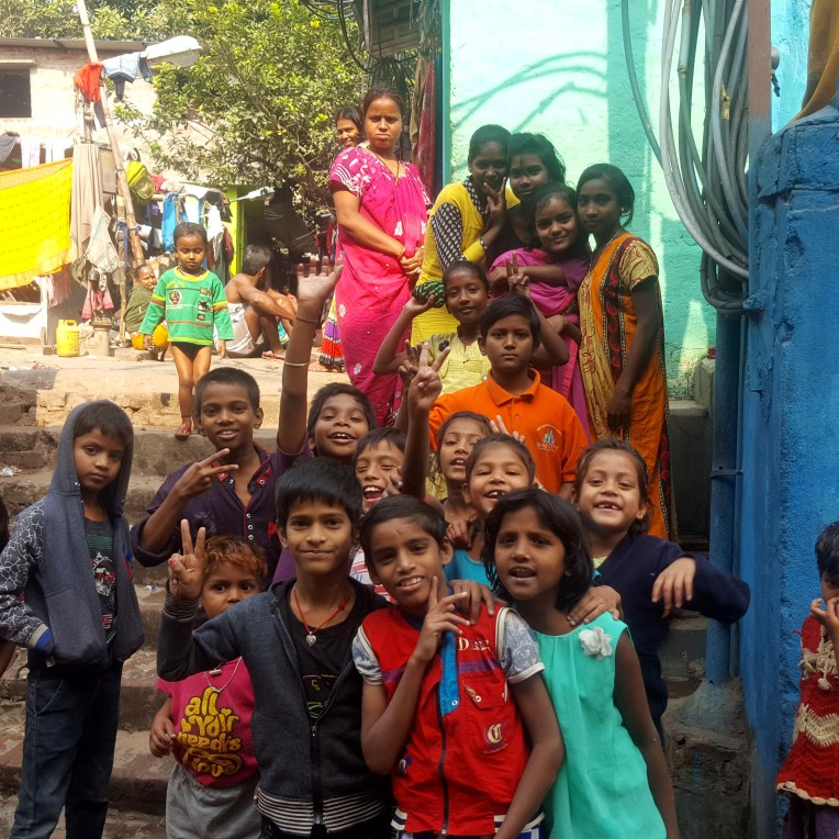 Children in Kolkata